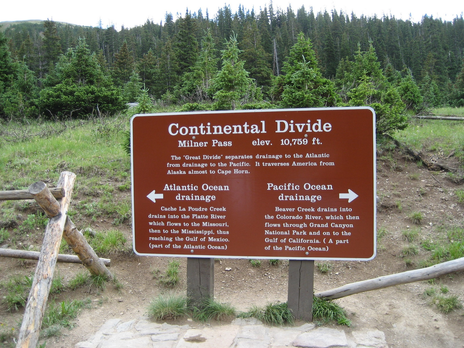 Post image for On Top of the World – The Continental Divide